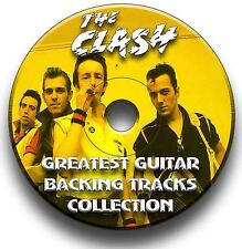 THE CLASH STYLE PUNK ROCK GUITAR BACKING TRACKS COLLECTION AUDIO CD JAM TRACKS
