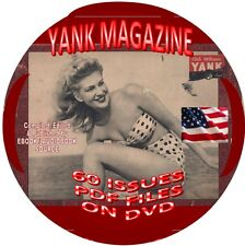 YANK MAGAZINE - VINTAGE WWII MAGAZINE - 60 ISSUES - PDF FILES - ON DVD -SOLDIERS