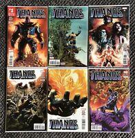 Thanos #1 - #2 - #8 - #9 - #12 - #17 (2nd Print) - Volume 2 - Marvel Comics