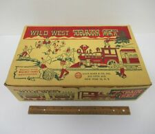 Original 1950s Vintage ***EMPTY BOX ONLY*** MARX Wild West Toy Train Set yz2873