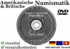 Britische & Amerikanische MÜNZEN 220 eBooks DVD NUMISMATIK England IRLAND Coin