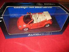 AUTOart™ PERFORMANCE 79754 1:18 VW NEW BEETLE CABRIO (Sundown orange) NEU OVP