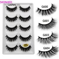 Flutter Lashes Wispy  3D Mink Hair Extension Tools False Eyelashes Thick Long