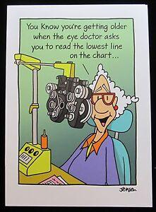 Oatmeal Studios Greeting Card Birthday Humor Funny Older Multi Color R339