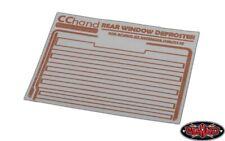 RC4WD Rear Window Defroster Decal for Gelande II (D90/D110) VVV-C0618