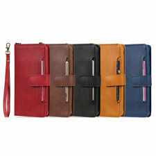 2in1 Flip Handy Wallet Leather Stand Magnetic Case Cover Samsung Galaxy Phone