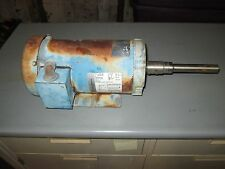 USED FRANKLIN ELECTRIC 1313007166 3HP 3 HP MOTOR 56C 3450/2875 RPM (VV6)