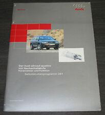 Audi  A6 Allroad Quattro Typ C5  Nachschaltstufe SSP 241 Technischer Stand 2000