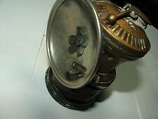 Antique/vintage Autolite carbide mining light for helmet w/reflector & ignitor
