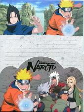 Naruto Set Carta da lettere+buste - Letter set (paper+enevelopes+stickers) RARE