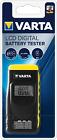 Varta Batterietester LCD Digital für Batterie, Akkus und Knopfzellen