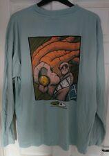 STANDARD DELUXE Long Sleeve T-Shirt XL Vintage Retro 90's Skate Snow Street RARE