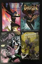 Lot of 4 DC Tpb Batman - Batgirl  - Joker - Gotham Academy