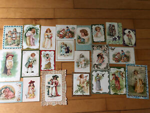 LOT of 22 ANTIQUE EARLY 1900s HOLIDAY Postcards   * VALENTINE *