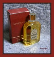 """ L' INTERDIT "" NIB EDT by GIVENCHY 109 ml splash Made in France Vintage 80's"