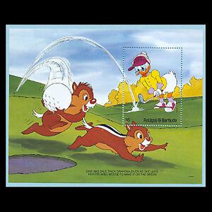 Antigua, Sc #1464, MNH, 1991, S/S, Disney, See description, Golf, GAI-A