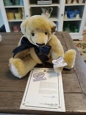 Annette Funicello Collectible Bear Hollywood Star with Coa