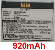 Batterie 920mAh Pour Garmin-Asus Nuvifone type TD10091100270