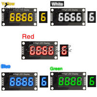 "TM1637 0.36/0.56"" 4-Bits LED Clock Tube Display for Arduino Red/Blue/Green/White"