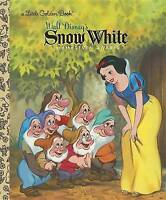 Snow White and the Seven Dwarfs (Disney Princess) (Little Golden Books (Random H