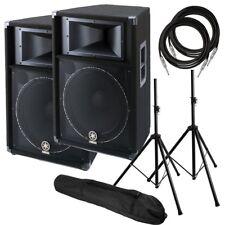 "Yamaha S115V 15"" Two-Way Passive PA Speaker PERFORMER PAK"