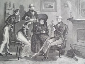 Reading Of The Will Lawyer's Great Expectations Harper's 1878
