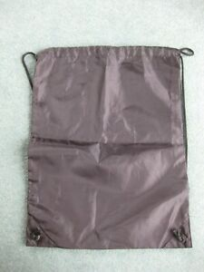 Plain Black Drawstring Gym PE kit Bag