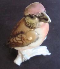 Sparrow Finch Decoration Porcelain Figurine Ens German Germany Near Mint