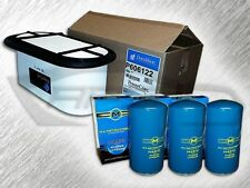 7.3L TURBO DIESEL HEAVY DUTY OVAL AIR FILTER & 3 OIL FILTERS - REPLACES FA1757