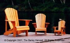 Children's Adirondack Chair Plans (Youth, Junior, Child) - FULL SIZE PATTERNS