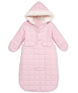 First Impressions Baby Girls' Jacket Snowbag with Faux Fur Trim (3-6 Months) $70
