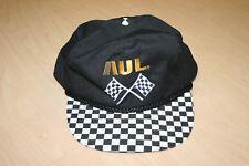 Vintage One America United Life AUL Race Checker Flag Snapback Baseball Cap Hat