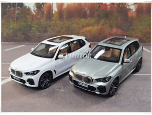 1/18 Norev BMW X5 40i 2019 G05 Diecast Car Model SUV Toys Gifts White/Silver