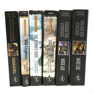 Black Library Warhammer Fantasy Novel Lot (PB) - WFB Pre-owned 120 THG