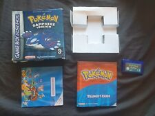 POKEMON SAPPHIRE VERSION Nintendo Gameboy Advance Game