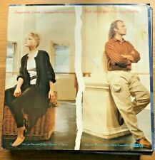"""VINTAGE VINYL Record Collector PHIL COLLINS and MARILYN MARTIN, """"SEPARATE LIVES"""""""