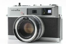 MINOLTA HI-MATIC 7s [Manual Only] RANGEFINDER FILM CAMERA ROKKOR-PF 45mm F/1.8