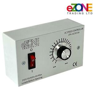 Extractor Fan Motor Speed Controller 6A 230V Restaurant Ventelation  Filter