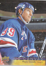 17-18 Upper Deck Wayne Gretzky UD Canvas Retired Stars NY Rangers 2017