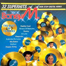 Boney M. CD The Best Of 10 Years - Europe (VG+/G)