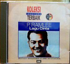 P. RAMLEE LAGU CINTA RARE 1995 MALAYSIA 12-TRACK CD KOLEKSI LAGU-LAGU TERBAIK