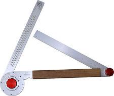 Koller-Schrägmaß ROT, Winkelschmiege, Anreißgerät, Alphawinkel, Abbundwerkzeug