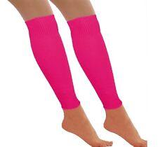 NEON LEG WARMERS LADIES FANCY DRESS TUTU LEGWARMER HEN PARTY FANCY DRESS