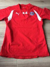 Bath Rugby Shirt Players Jersey Tight Fit #24 Medium Puma.