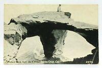 RPPC Santa Cruz California Arched Rock Vintage Postcard