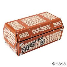 Treasure Chest Large Cardboard Pirate Theme Party Favors Centerpiece