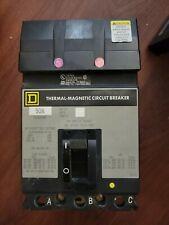 Square D Fa Fa32090 3 pole 90 amp 240V I-Line Circuit Breaker