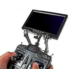 7-8 inch LCD Monitor FPV Mount Bracket for FPV Futaba JR WFLY FS-TH9X-B Remote