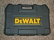 EMPTY Dewalt MECHANICS TOOL BOX FROM 200 PIECE SOCKET SET SPACES FOR RATCHET, SO