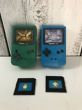 Lot (2) 2000 Burger King Gameboy Couleur Jouet Diglett Geodude Jeu Carte Bon